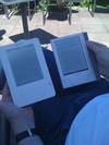 Kindle and Sony PRS-505