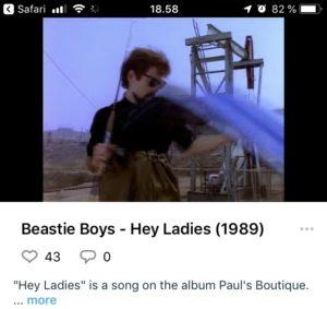 Beastie Boys - Hey Ladies -Musikvideo på Vimeo