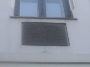 Founding of Politiken Commorative Plaque