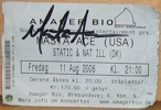 Masta Ace Signed Ticket