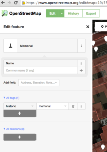 OpenStreetMap – Edit feature