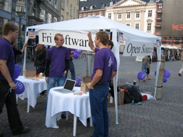 Software Freedom Day 2006 - Gammel Torv In Copenhagen