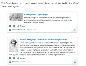 VisitCopenhagen plus Wikipedia
