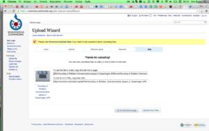 Wikimedia Commons – UploadWizard – Use