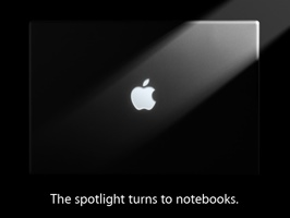 Applenotebookevent - The spotlight turns to notebooks