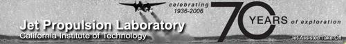 JPL 70th anniversary banner