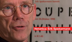 Erik Spiekermann from the Helvetica Documentary