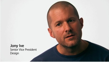 Jony Ive - Apple Senior Vice President - Design